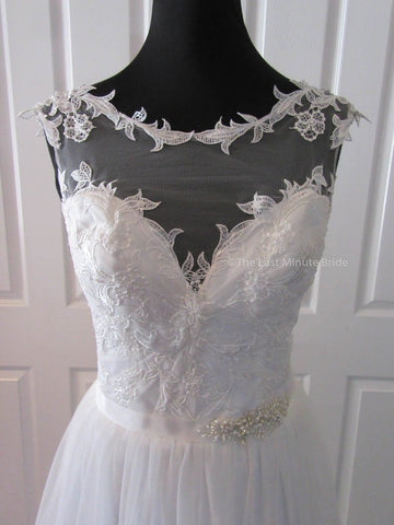 The Last Minute Bride Emma Wedding Dress