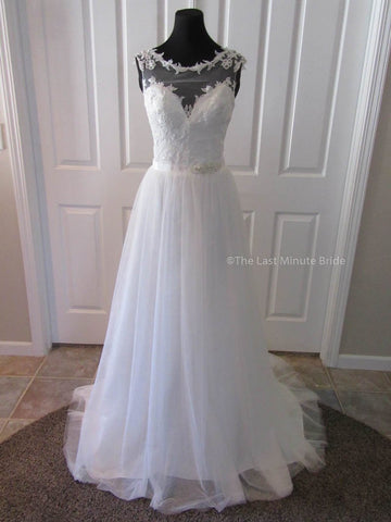 Made to Order 100% Authentic Emma by The Last Minute Bride Wedding Dress