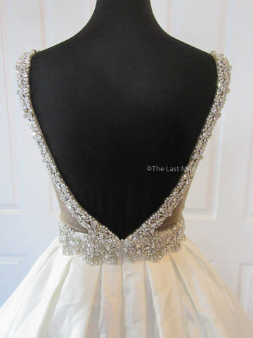 V Back Wedding Dress