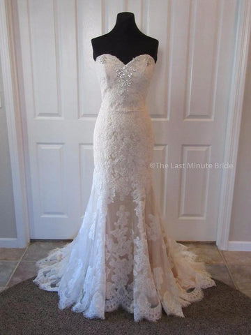 100% Authentic Heather by The Last Minute Bride Wedding Dress