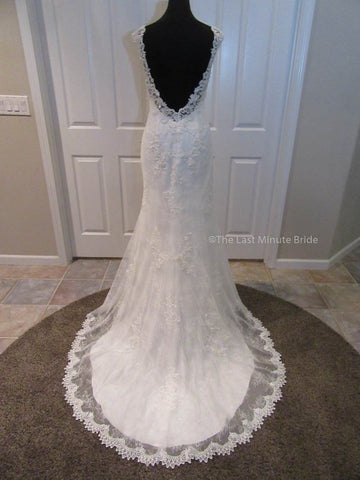 New (Un-Altered) Condition  Wedding Dress