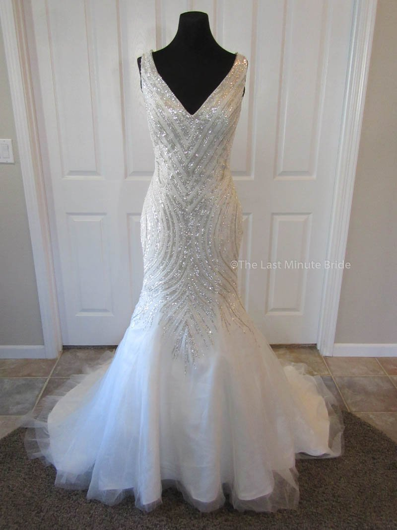 Made To Order 100 Authentic Last Minute Bride Wedding Dress Style Veronic: Art Made Wedding Dresses At Reisefeber.org