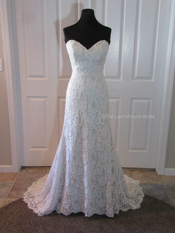 100% Authentic Ti Adora by JLM Helm Style 7607 Wedding Dress