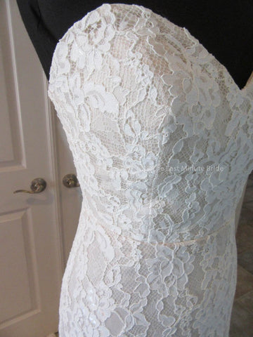 Ivory/Champagne Color Wedding Dress