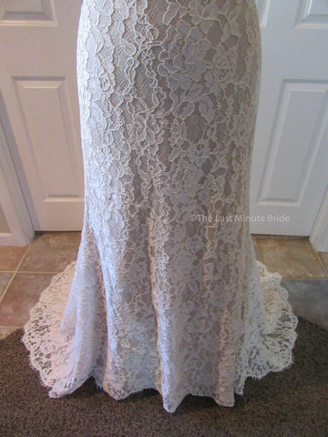 Jim Hjelm Designer Wedding Dress