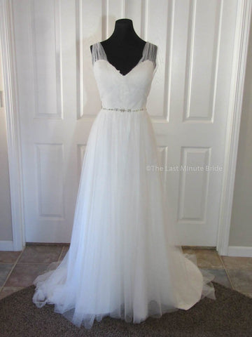 100% Authentic Ti Adora by Alvina Valenta 7609 Wedding Dress