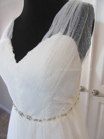 32.5 Waist Wedding Dress