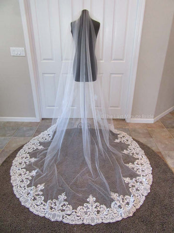 Cathedral Length Veil Style: Bold and Beautiful