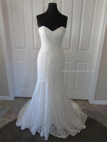 100% Authentic Willa from The Last Minute Bride Wedding Dress