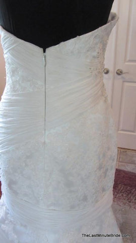 40.5 Hips: Bridal Gown