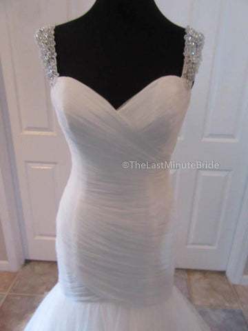 Sweetheart (Not Strapless) Neckline Wedding Dress