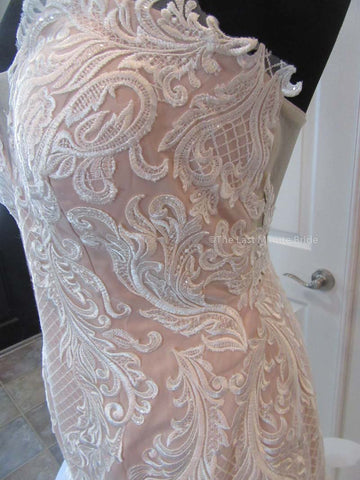 The Last Minute Bride Blakely Rose (Ivory/Moscato In-Stock Sizes)
