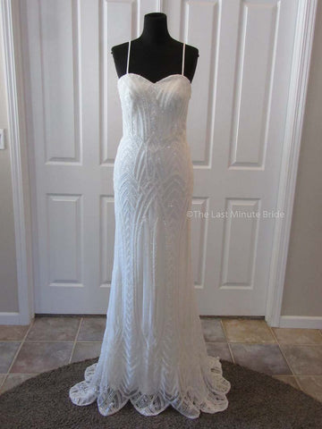 Gatsby by The Last Minute Bride (Made to Order - All Ivory)