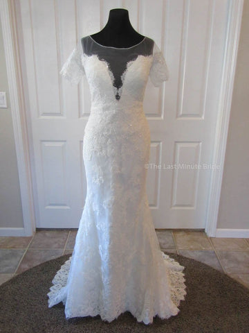 Made to Order 100% Authentic Everly by The Last Minute Bride Wedding Dress
