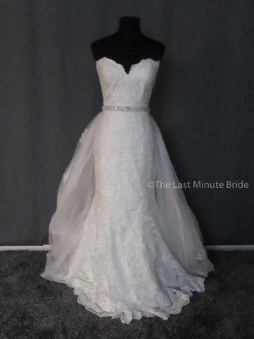100% Authentic Allure Couture C387 Wedding Dress