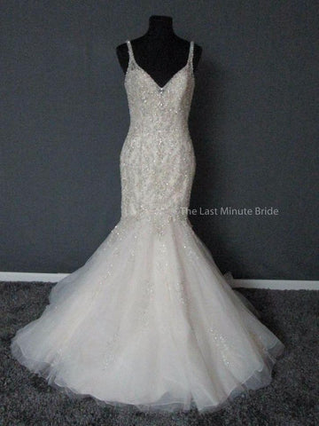 100% Authentic Mori Lee wedding dress fromThe Last Minute Bride