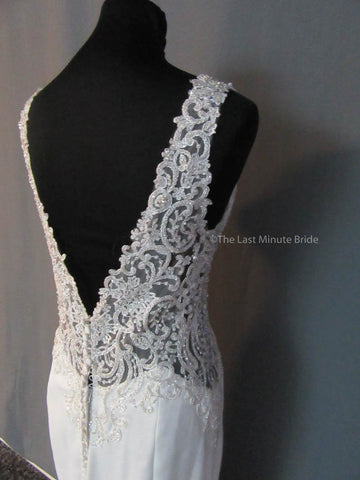 39.5 Hips Wedding Dress