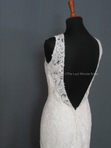 Sleeveless Wedding Dress