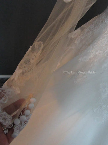 Allure Bridals 9366 Iv size 12