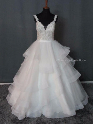 100% Authentic Allure 9418 Wedding Dress