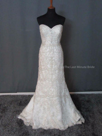 100% Authentic Allure Couture C288 Wedding Dress