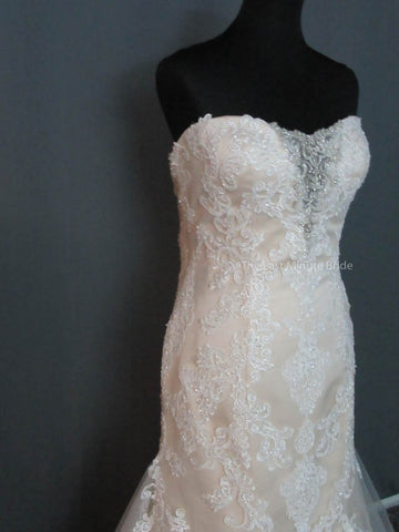 Strapless (Slight Curve) Wedding Dress