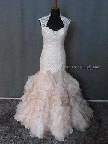 100% Authentic David Tutera wedding dress from The Last Minute Bride