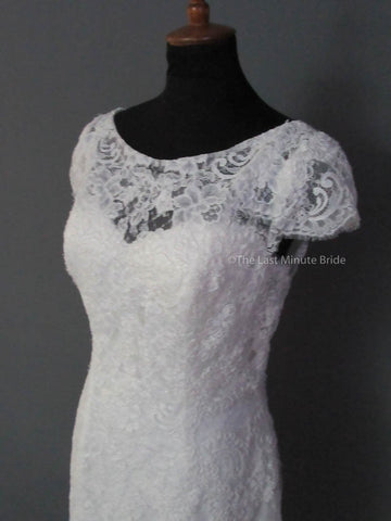 43.5 Hips Wedding Dress