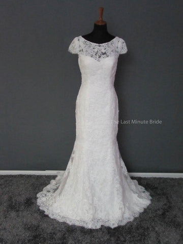 100% Authentic Maggie Sottero Wedding Dress Hudson 3MS748