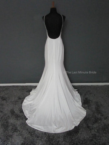 Bateau Neckline Wedding Dress