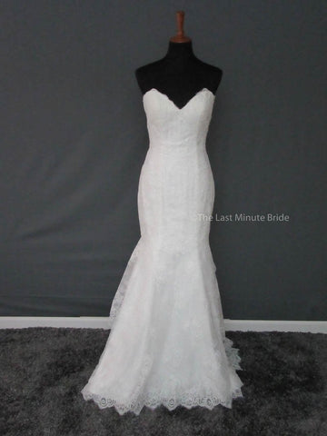 100% Authentic Lis Simon Indy Wedding Dress