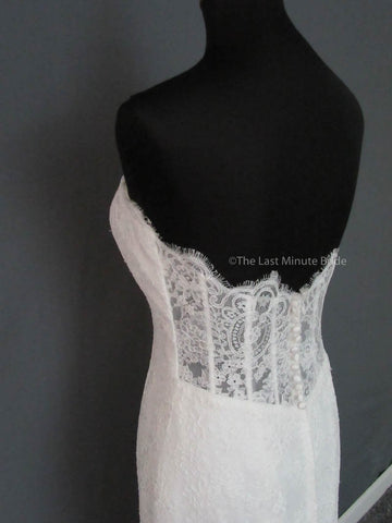 40.5 Hips Wedding Dress