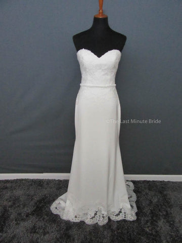 100% Authentic Lis Simon Idina Wedding Dress