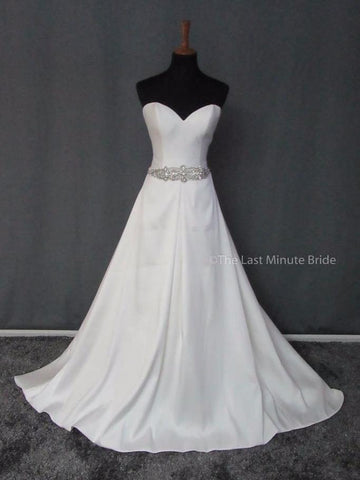 100% Authentic Stella York 6446 Wedding Dress