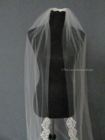 The Last Minute Bride Veil Style #100-A