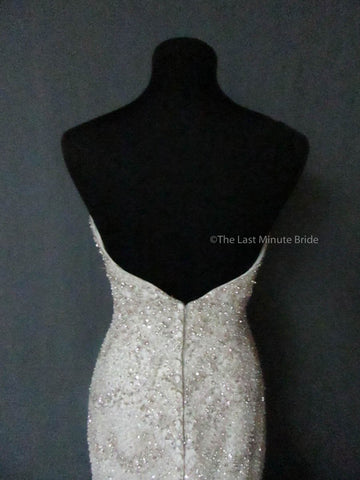 Allure Bridals C362 Ivory size 12