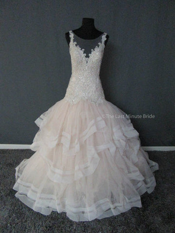 100% Authentic Allure C405 Wedding Dress