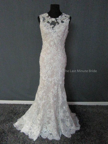100% Authentic Allure wedding dress from The Last Minute Bride