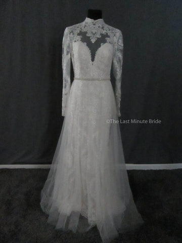 Allure Bridals Style 9567 (Nude/Champ/Iv) In-Stock