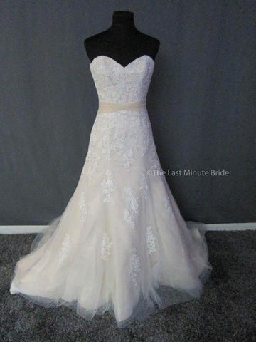 100% Authentic Bonny 1507 Wedding Dress