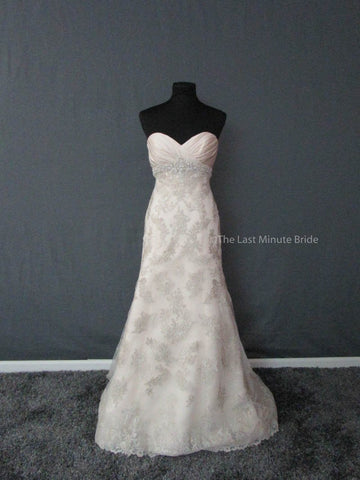 100% Authentic Casablanca 2161 Wedding Dress