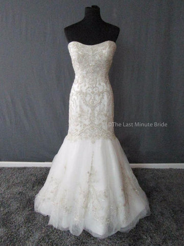 Casablanca Bridal Gown Style 2197 Wedding Dress