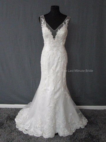 100% Authentic Casablanca 2286 Wedding Dress