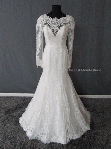 100% Authentic Cosmobella by Demetrios 7775 Wedding Dress