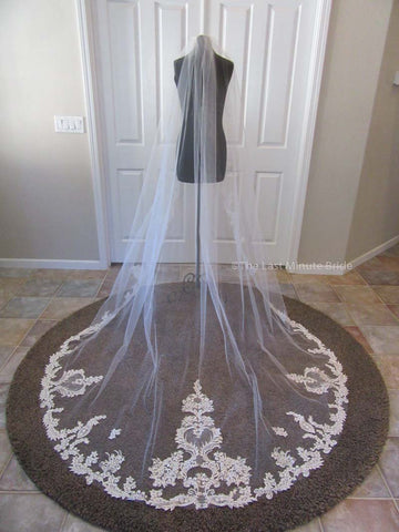Cathedral Length Veil Style: Make You Swoon