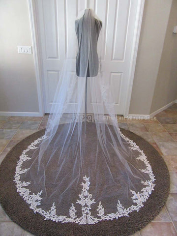 Cathedral Length Veil Style: Lovely Day