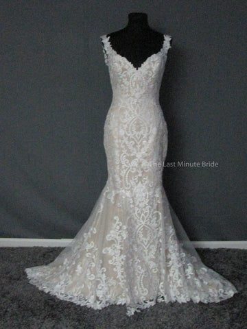 100% Authentic David Tutera Amber 117268 Wedding Dress