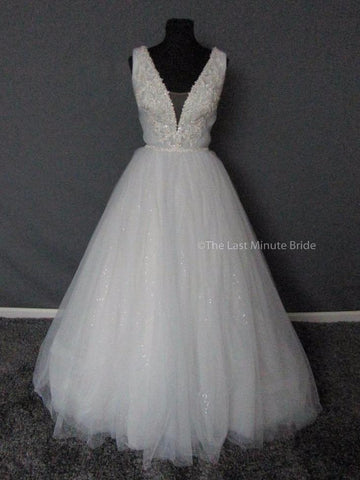 100% Authentic David Tutera Rena 217217 Wedding Dress