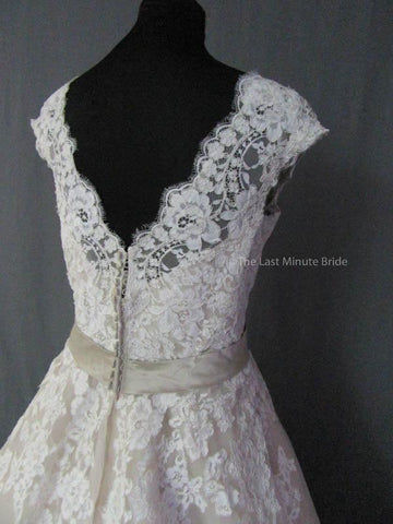 38.0 Hips Wedding Dress