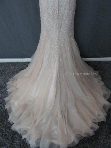 Color Sand  Wedding Dress